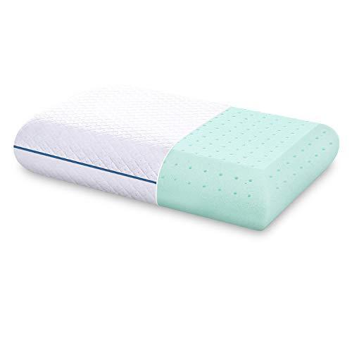 Reversible Memory Foam Pillow w// Cooling Gel Orthopedic Bed Comfort Cool Pillow